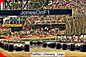 Jones on F1 Jones on F1 (or Sarah in the real world) is an avid supporter of everything related with Formula One for the last 15 years (since watching Mika Hakkinen taking his maiden win at Jerez in 1997).